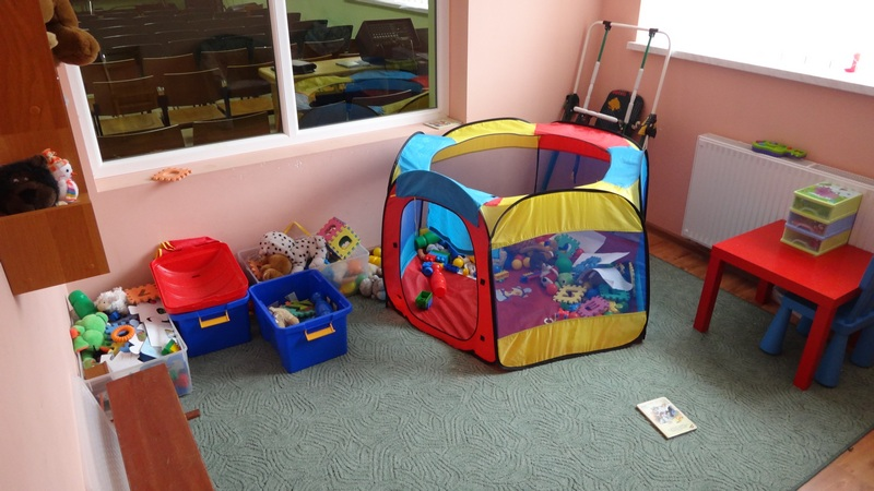 Widok pokoju dla dzieci